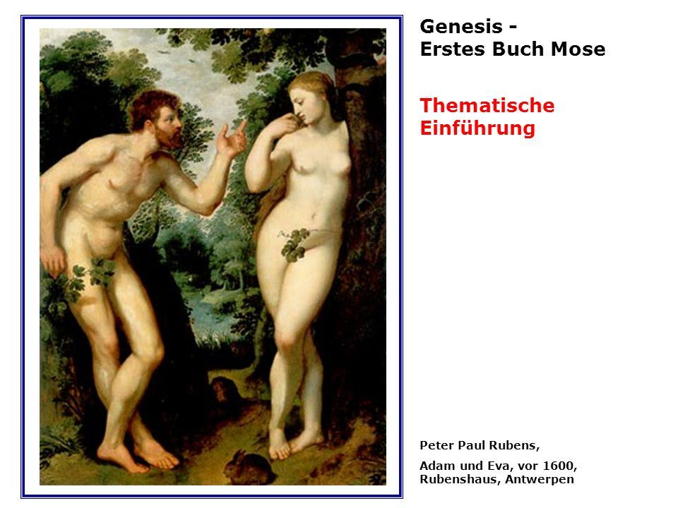 Genesis - Erstes Buch Mose Thematische Einführung Peter Paul Rubens,