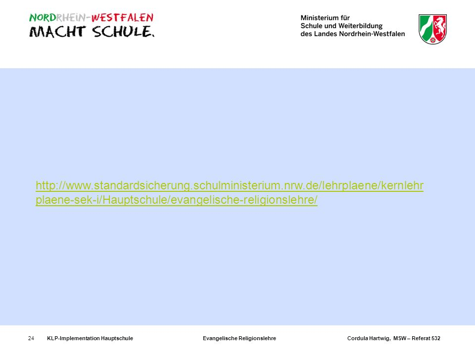 http://www. standardsicherung. schulministerium. nrw