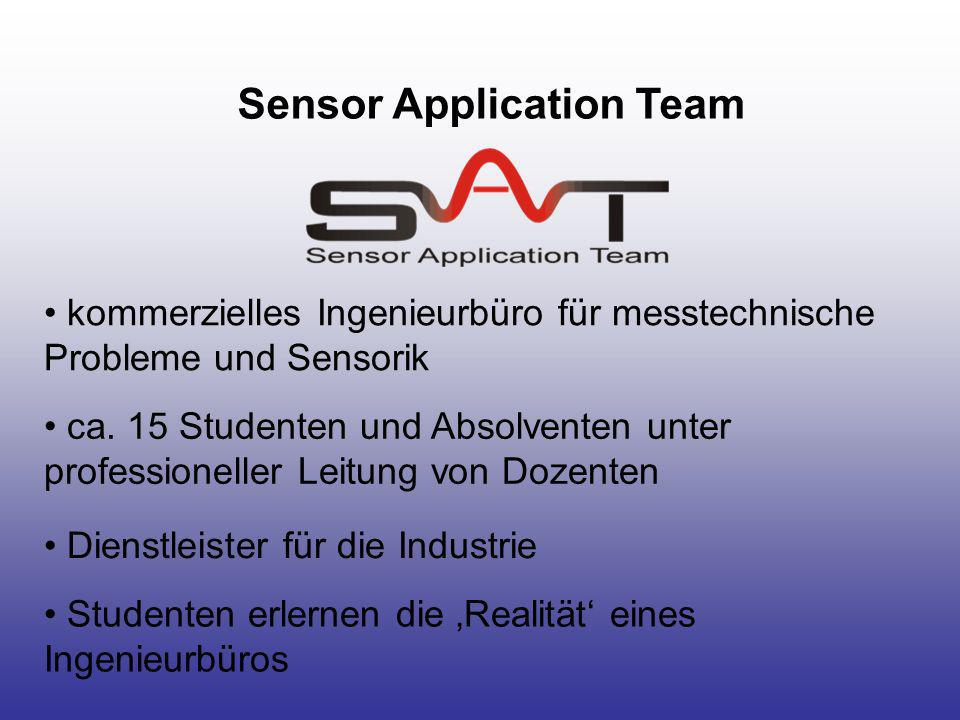 Sensor Application Team
