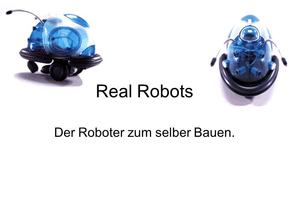 Der Roboter zum selber Bauen.