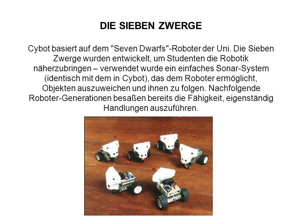 DIE SIEBEN ZWERGE Cybot basiert auf dem Seven Dwarfs -Roboter der Uni