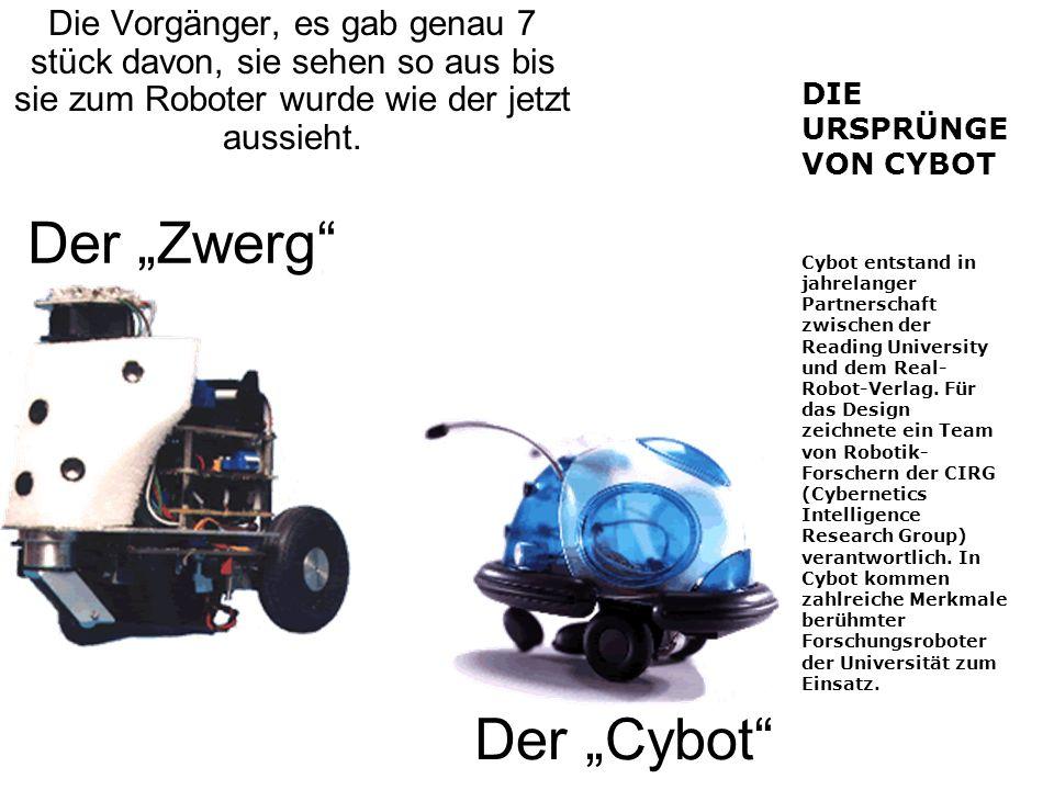 """Der """"Zwerg Der """"Cybot"""