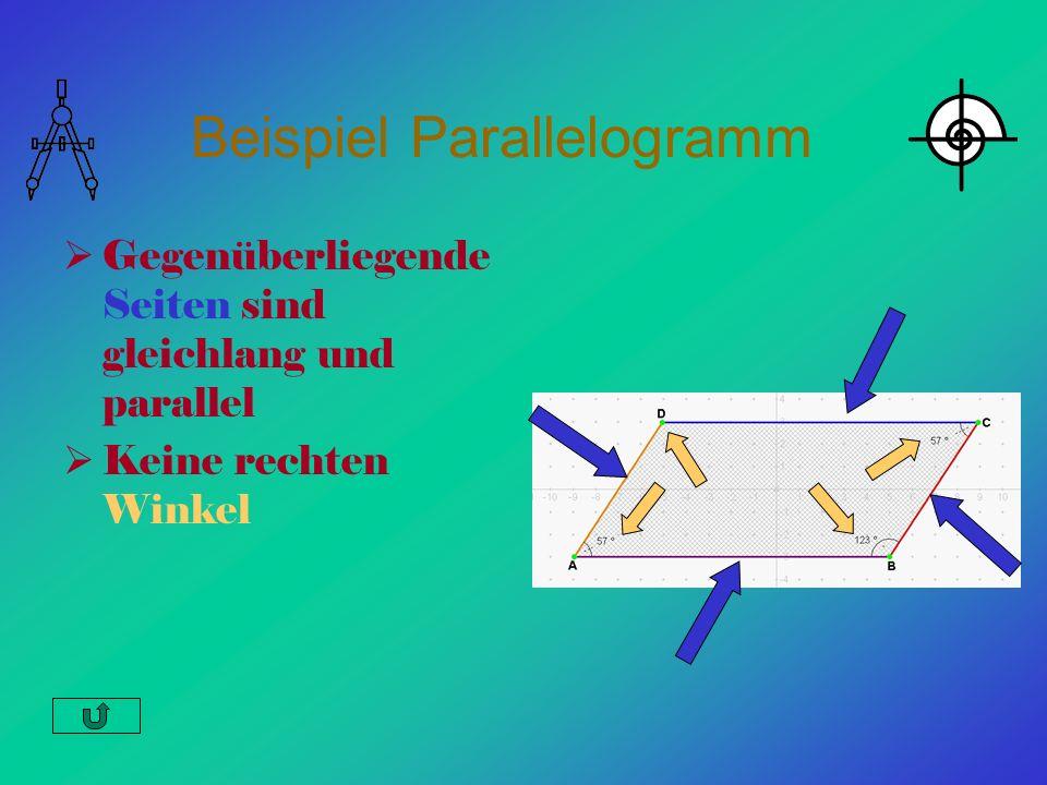 Beispiel Parallelogramm