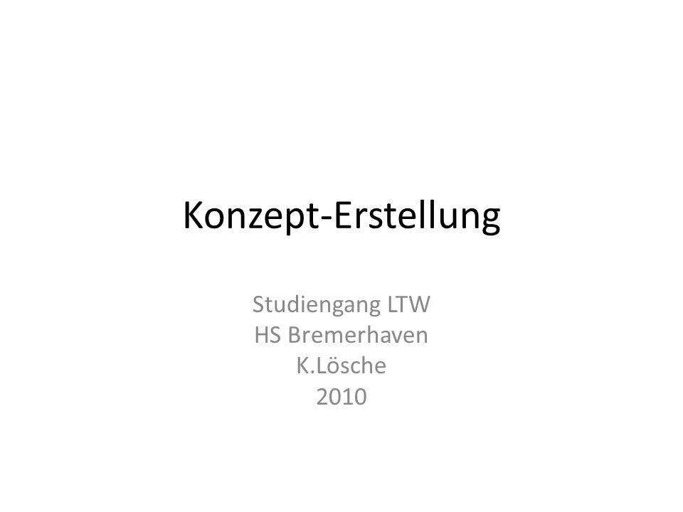 Studiengang LTW HS Bremerhaven K.Lösche 2010
