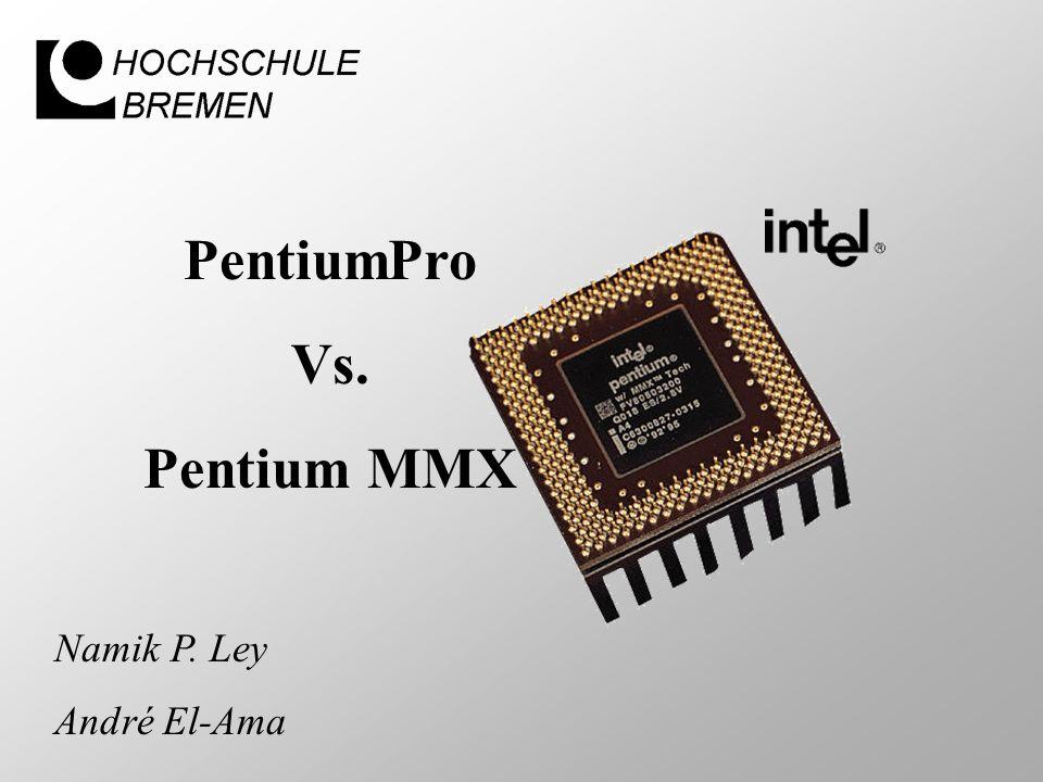 PentiumPro Vs. Pentium MMX