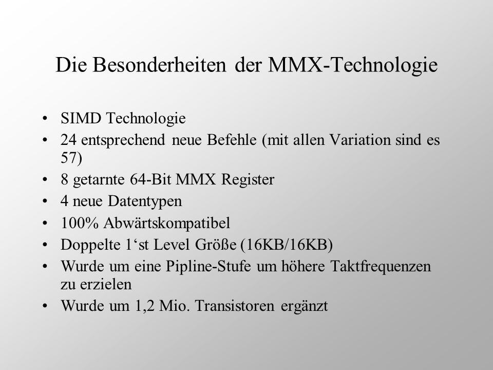 Die Besonderheiten der MMX-Technologie