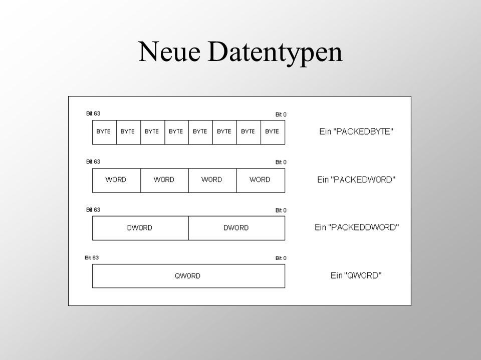 Neue Datentypen