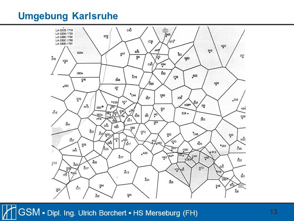 Umgebung Karlsruhe