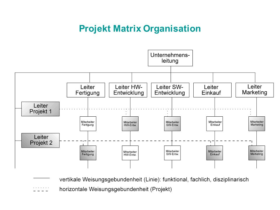 Projekt Matrix Organisation
