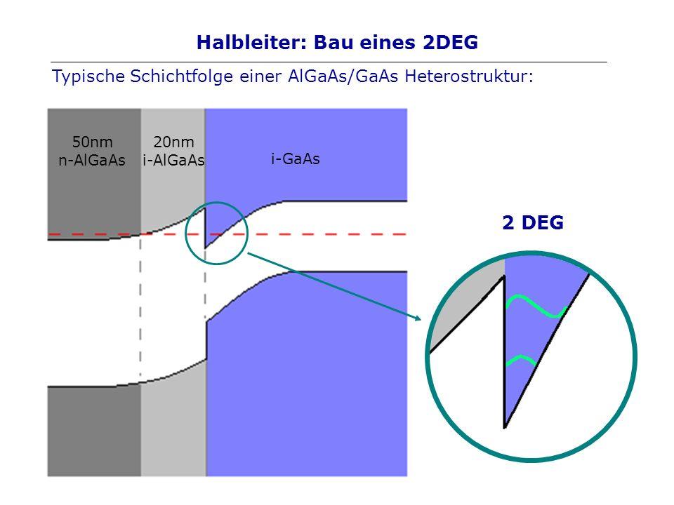 Halbleiter: Bau eines 2DEG