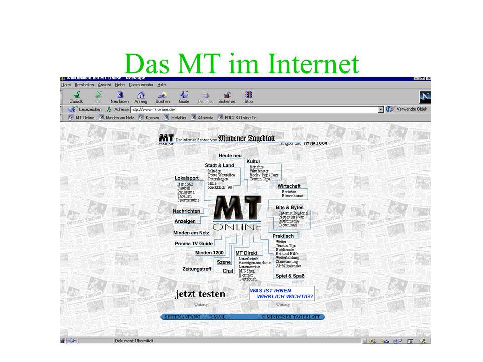 Das MT im Internet