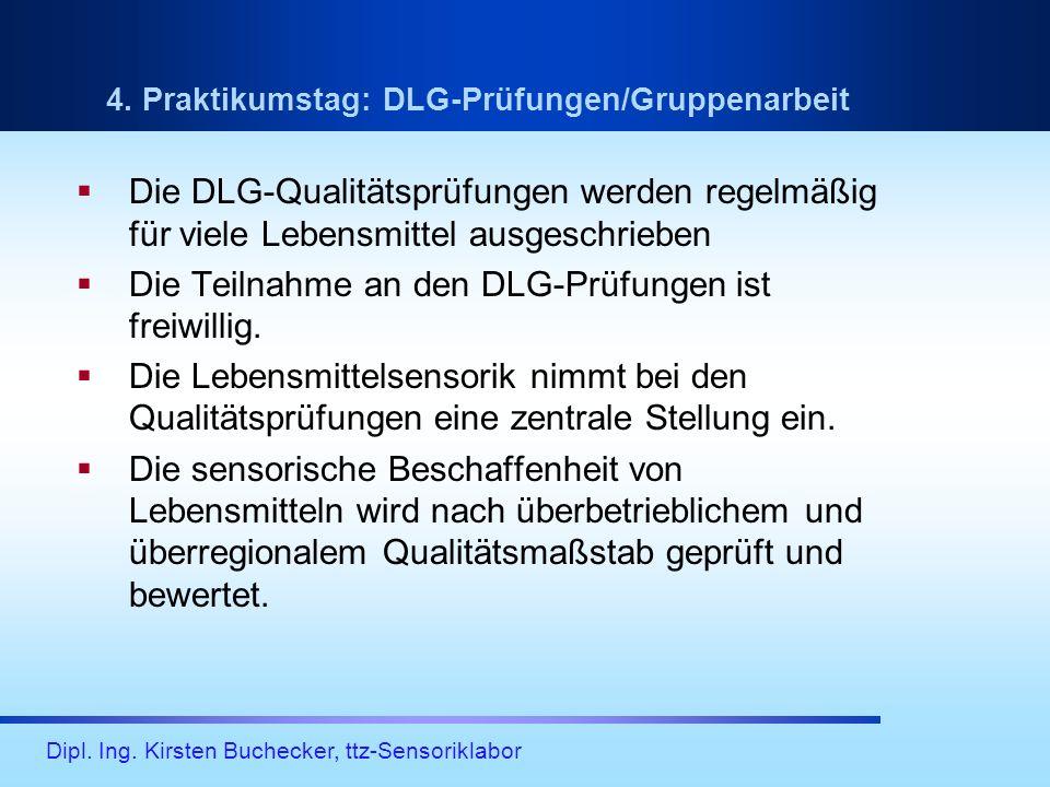 Die Teilnahme an den DLG-Prüfungen ist freiwillig.