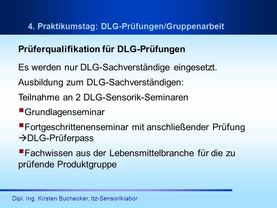 Prüferqualifikation für DLG-Prüfungen