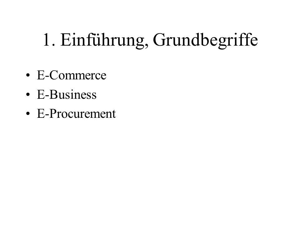 1. Einführung, Grundbegriffe