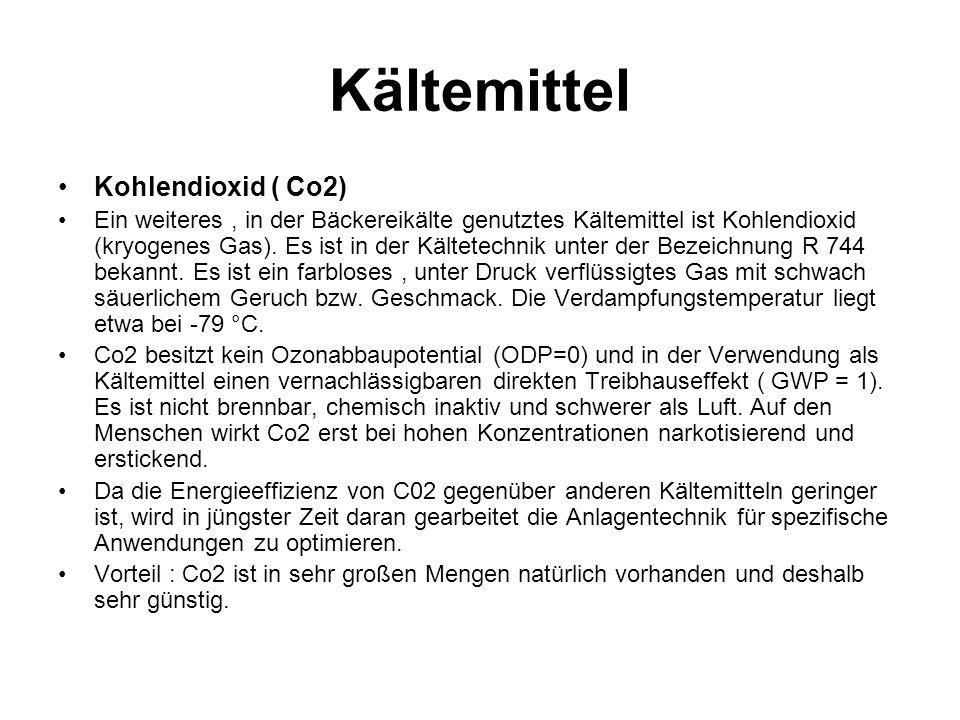Kältemittel Kohlendioxid ( Co2)