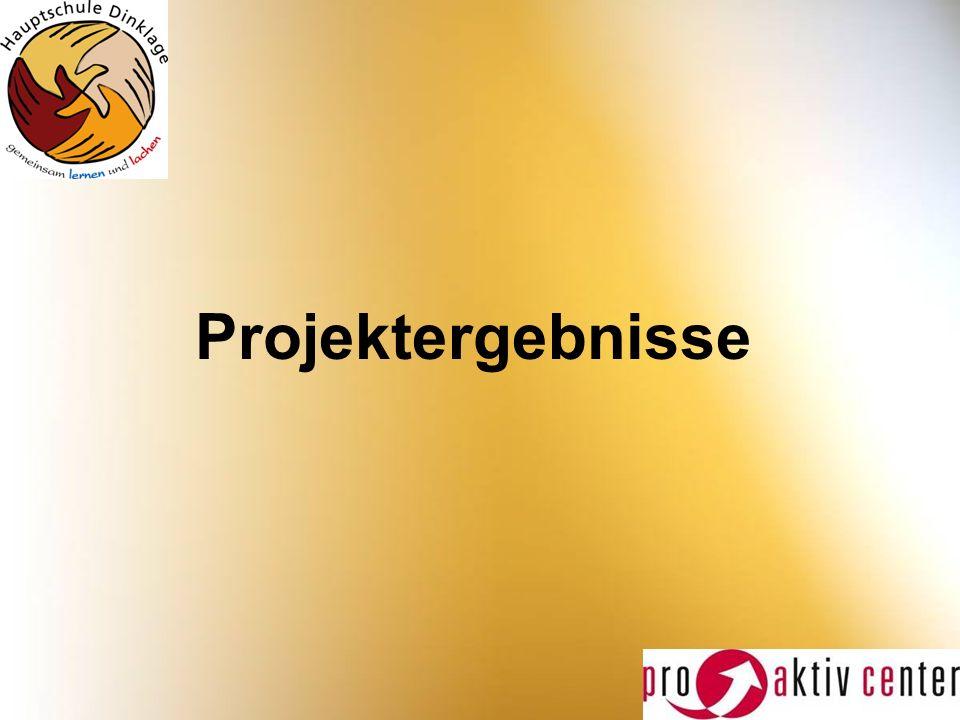 Projektergebnisse