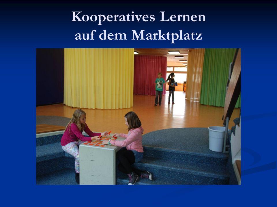 Kooperatives Lernen auf dem Marktplatz