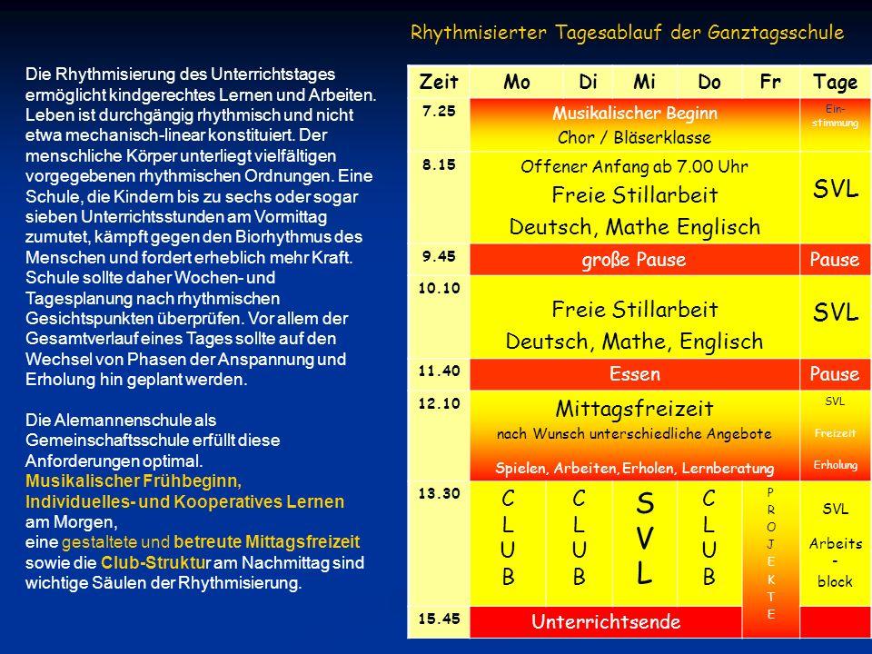 S V L SVL Freie Stillarbeit Deutsch, Mathe Englisch