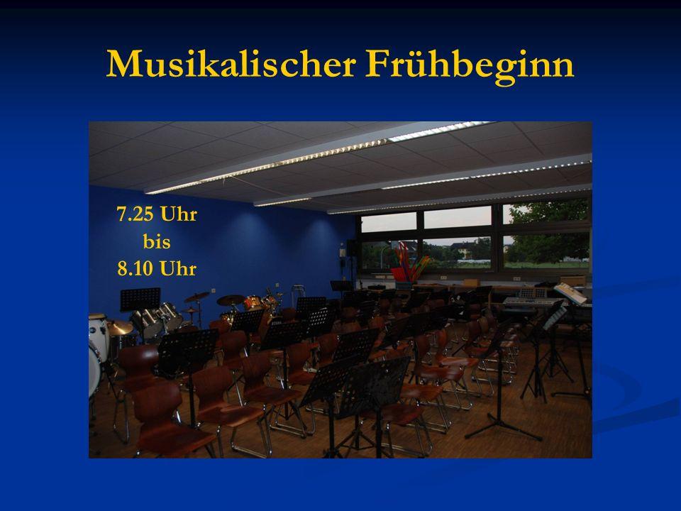 Musikalischer Frühbeginn