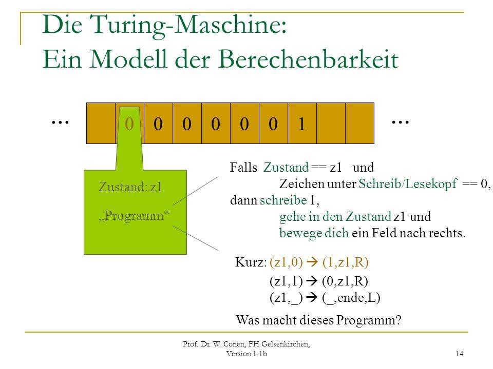 Die Turing-Maschine: Ein Modell der Berechenbarkeit