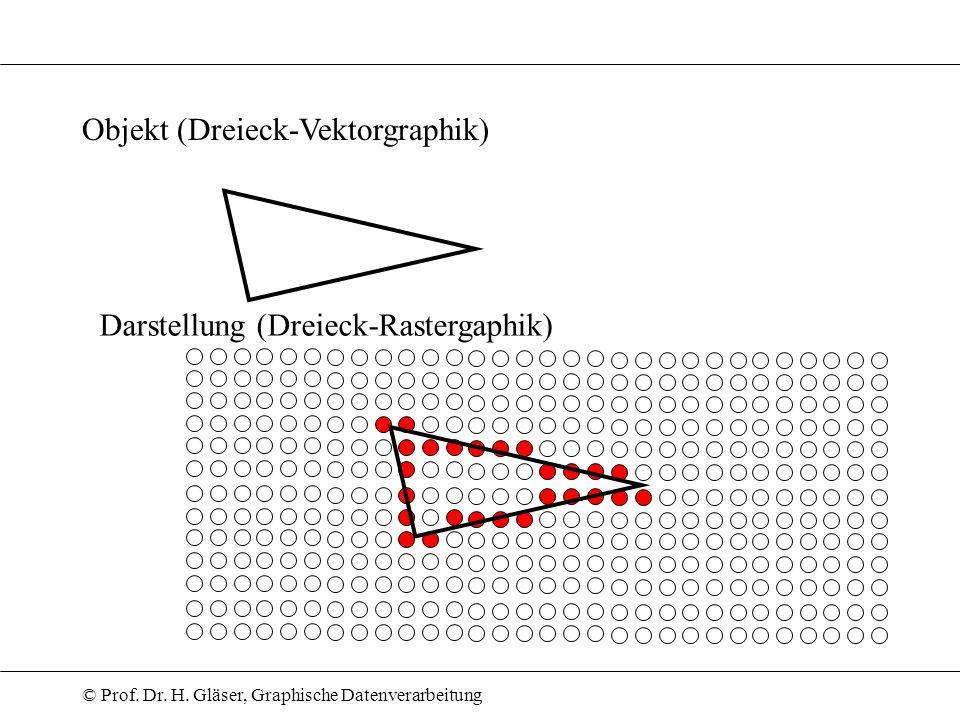 Objekt (Dreieck-Vektorgraphik)