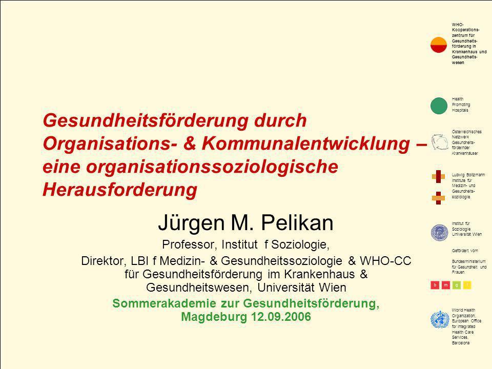 Sommerakademie zur Gesundheitsförderung, Magdeburg 12.09.2006