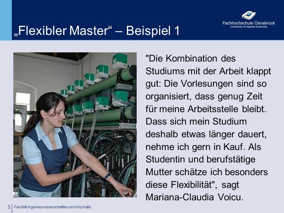 """""""Flexibler Master – Beispiel 1"""