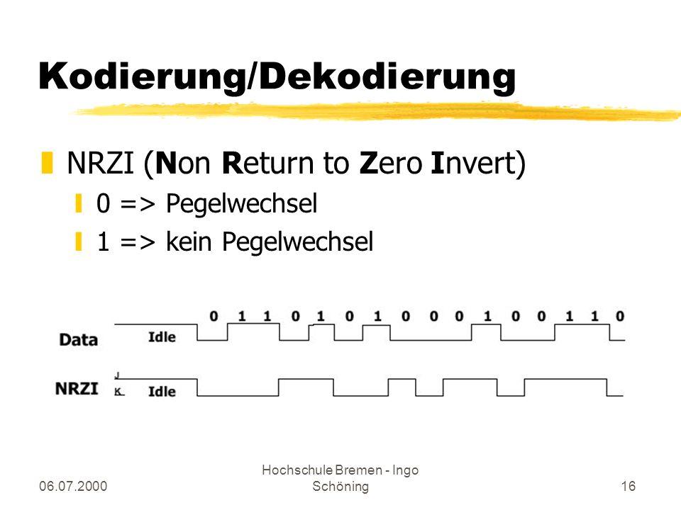 Kodierung/Dekodierung