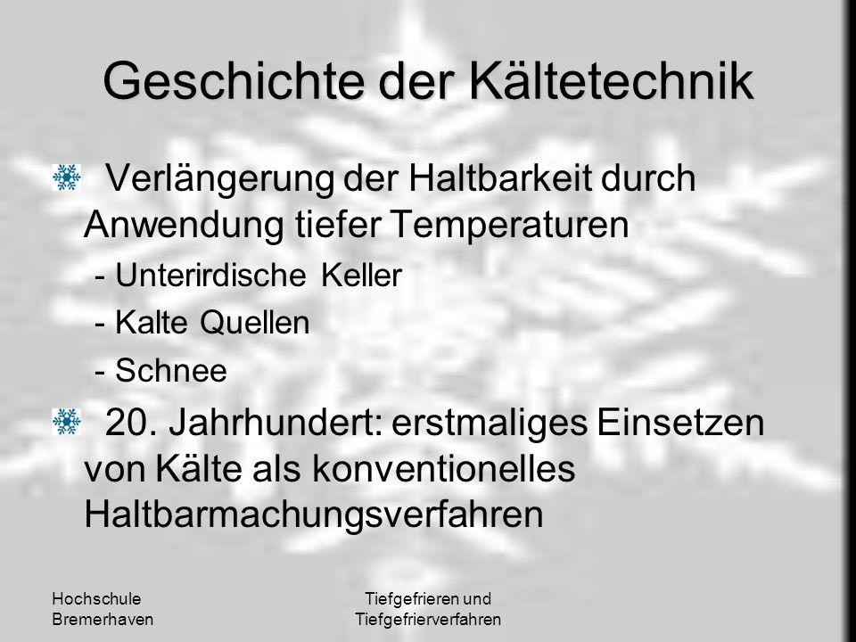 Geschichte der Kältetechnik