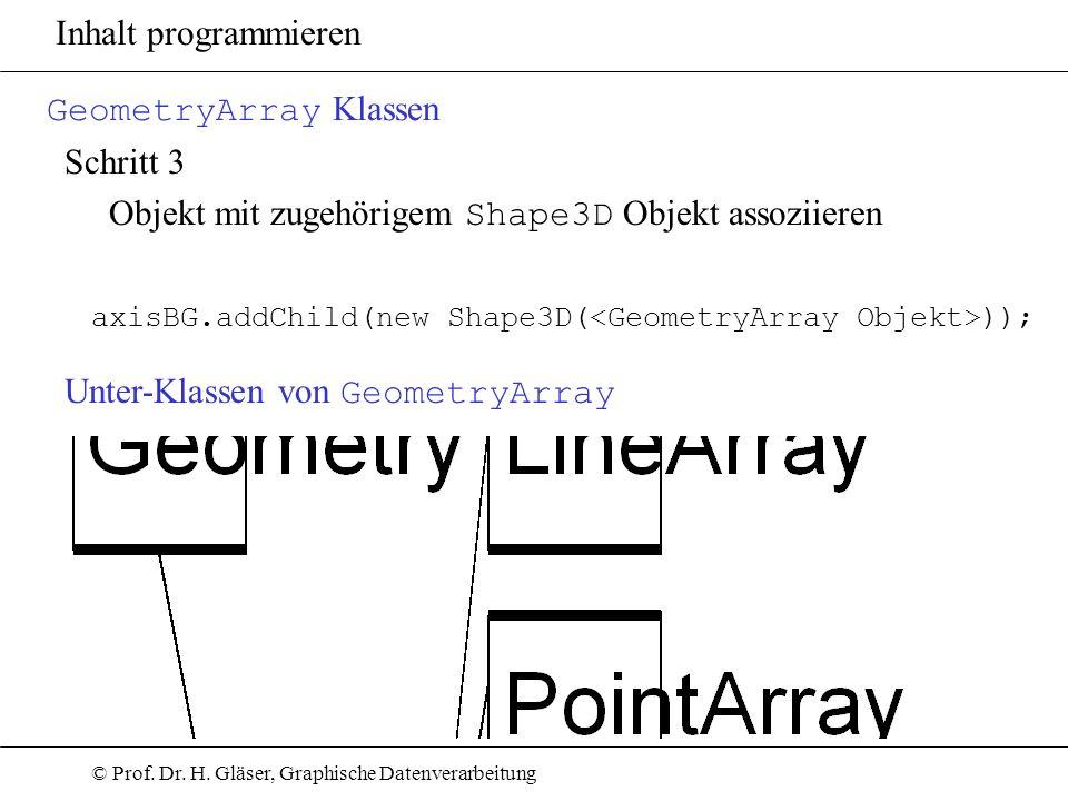 GeometryArray Klassen Schritt 3