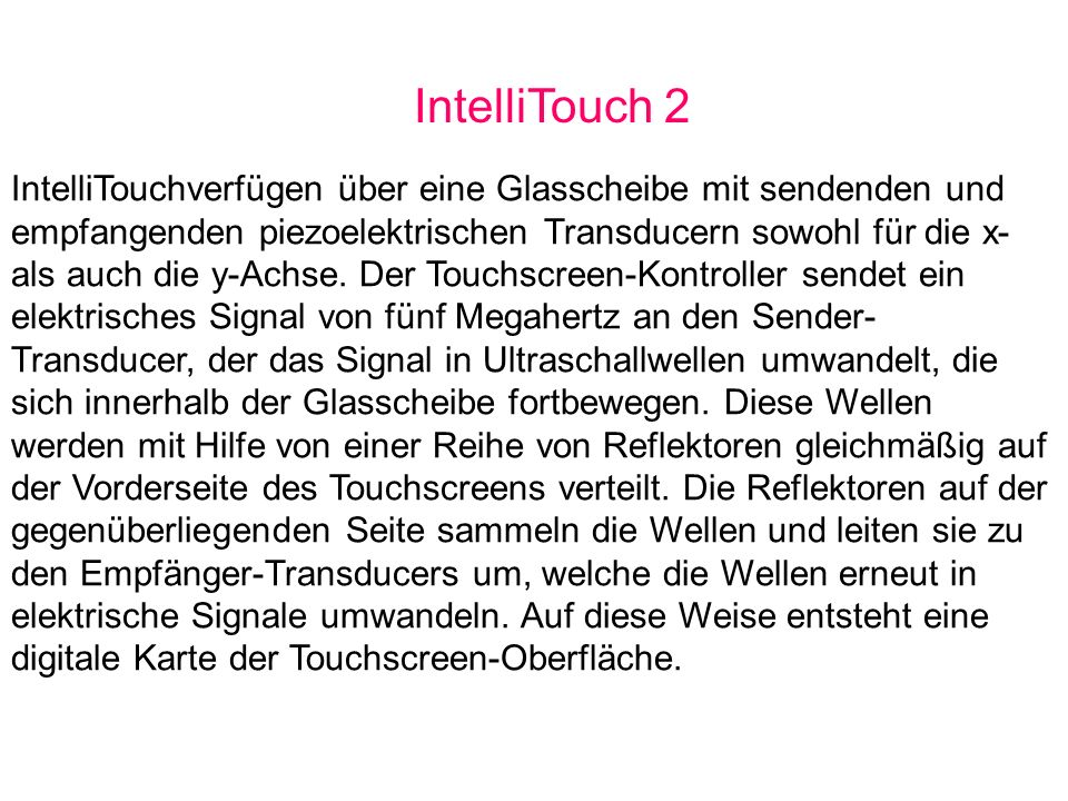 IntelliTouch 2