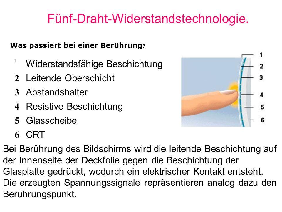 Fünf-Draht-Widerstandstechnologie.