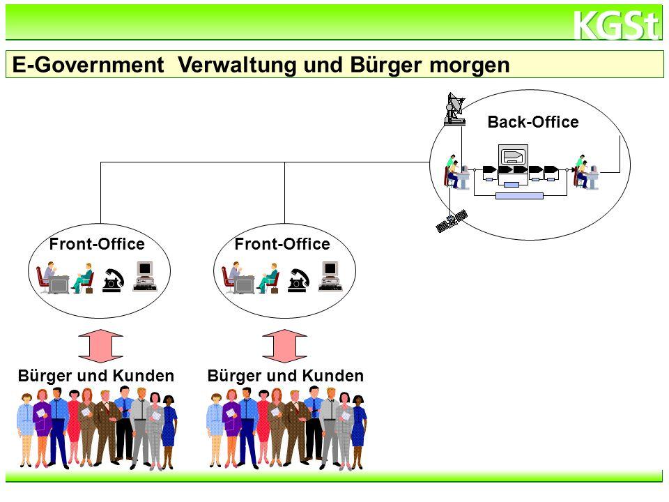 E-Government Verwaltung und Bürger morgen