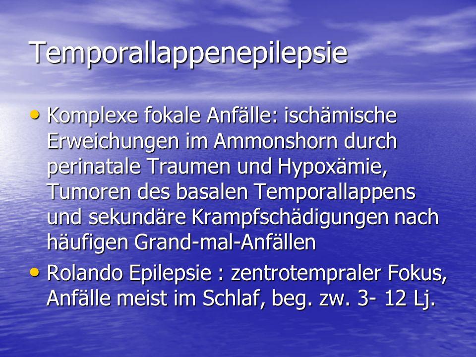 Temporallappenepilepsie