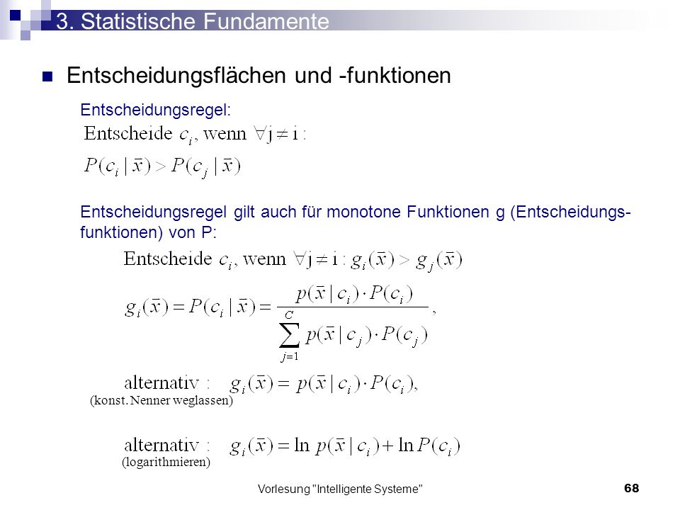3. Statistische Fundamente