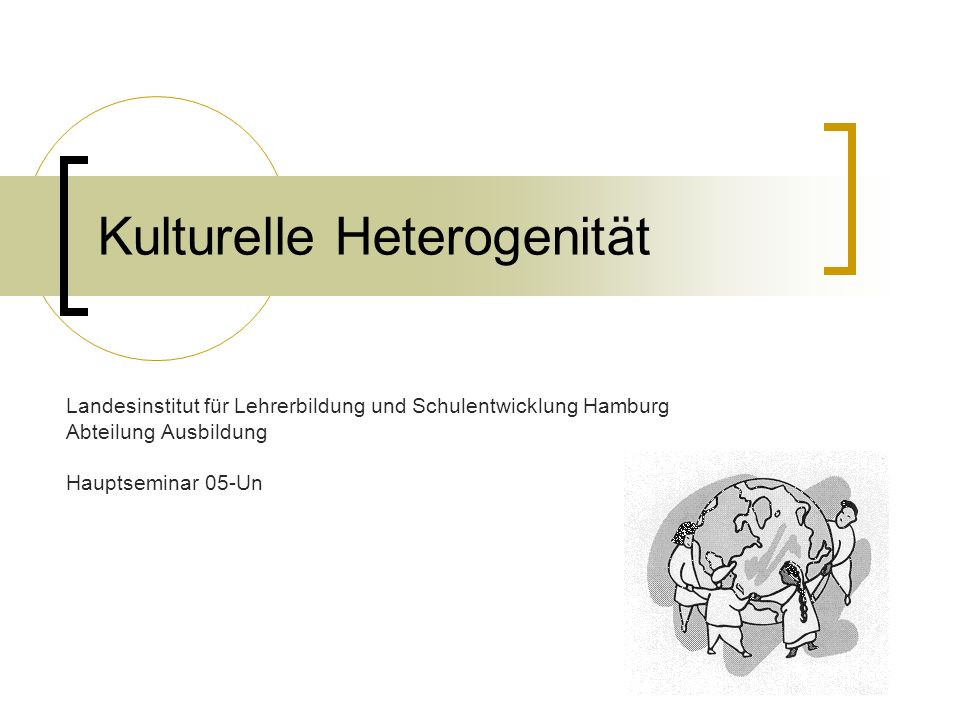 Kulturelle Heterogenität
