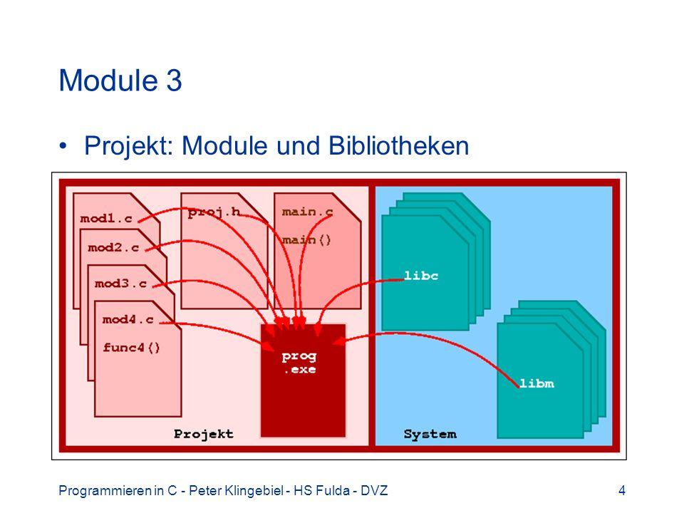 Module 3 Projekt: Module und Bibliotheken