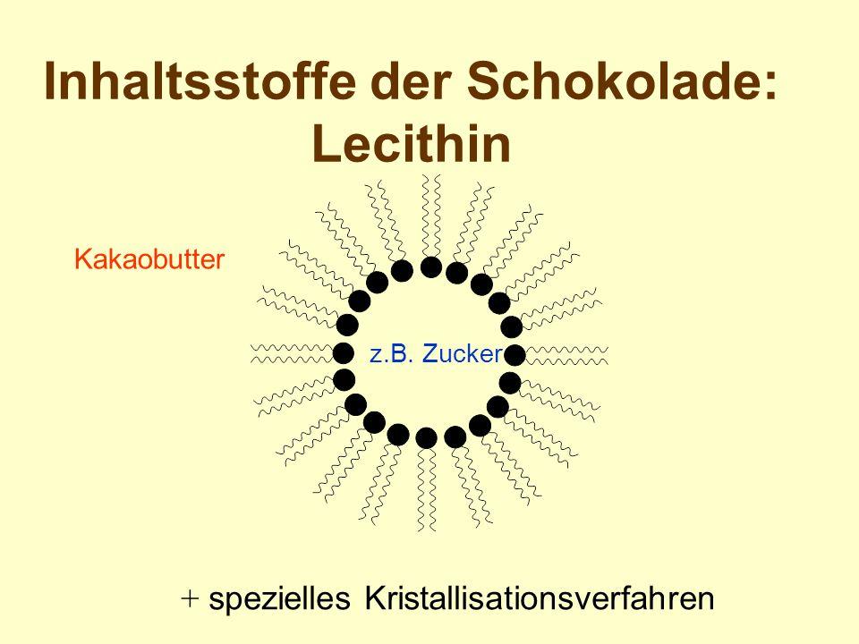 Inhaltsstoffe der Schokolade: Lecithin