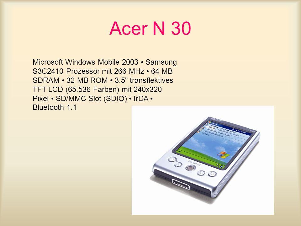 Acer N 30