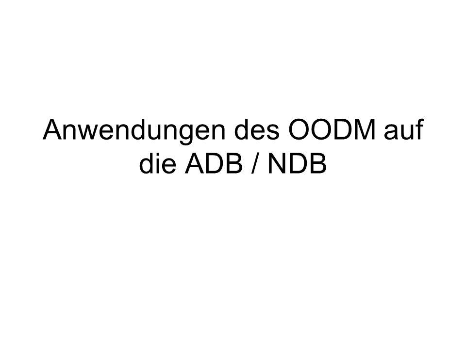 Anwendungen des OODM auf die ADB / NDB