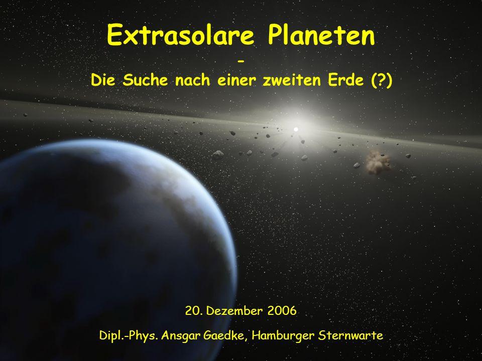Die Suche nach einer zweiten Erde ( )