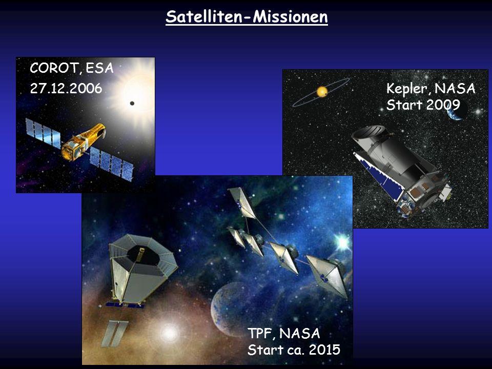 Satelliten-Missionen