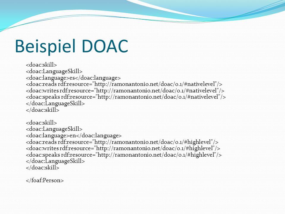 Beispiel DOAC