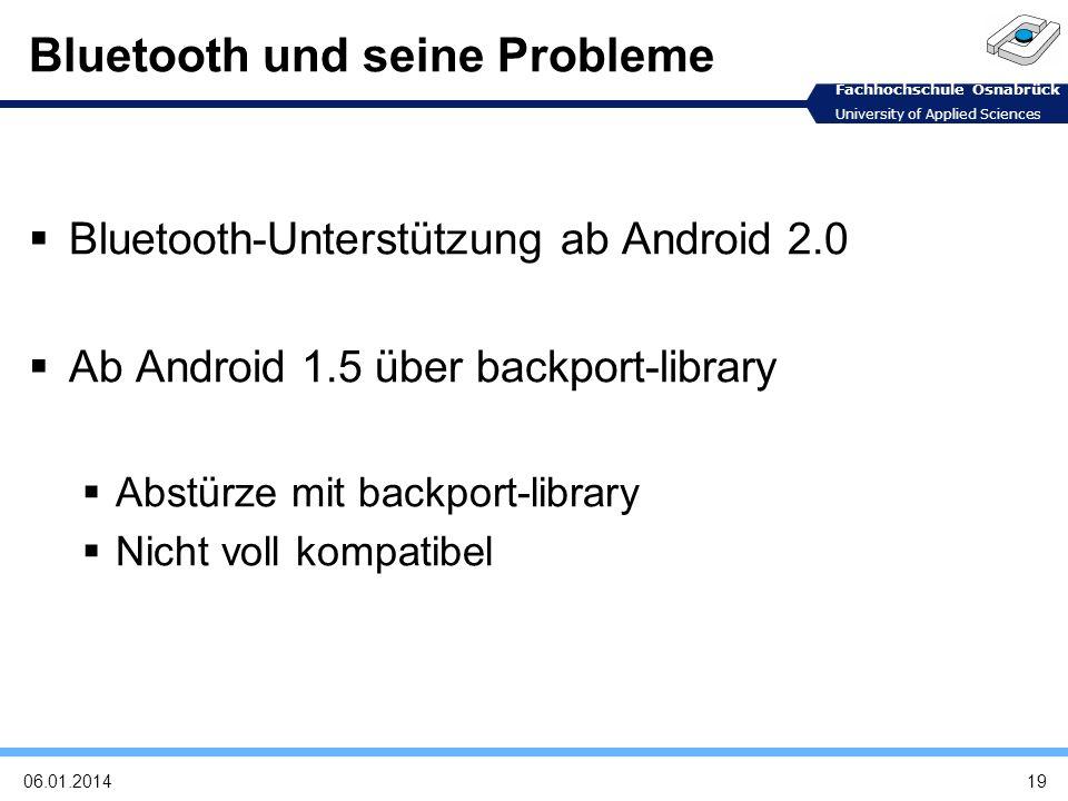 Bluetooth und seine Probleme