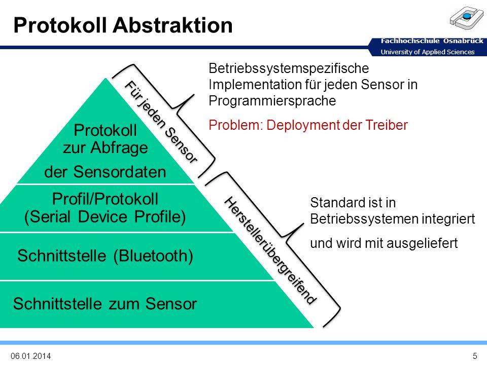 Protokoll Abstraktion