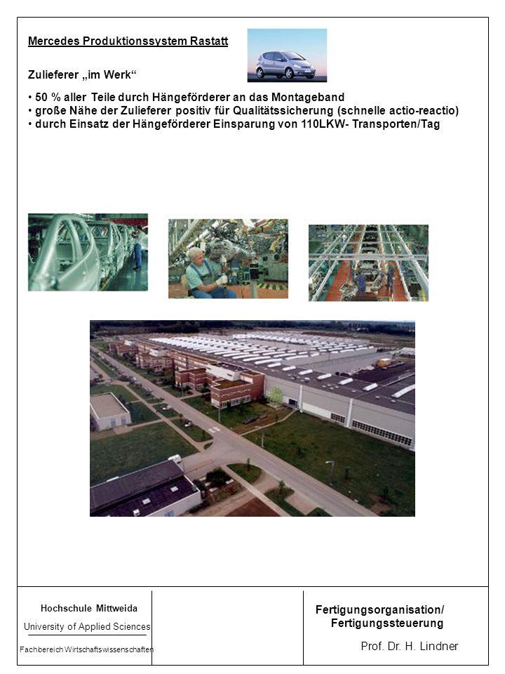 Mercedes Produktionssystem Rastatt