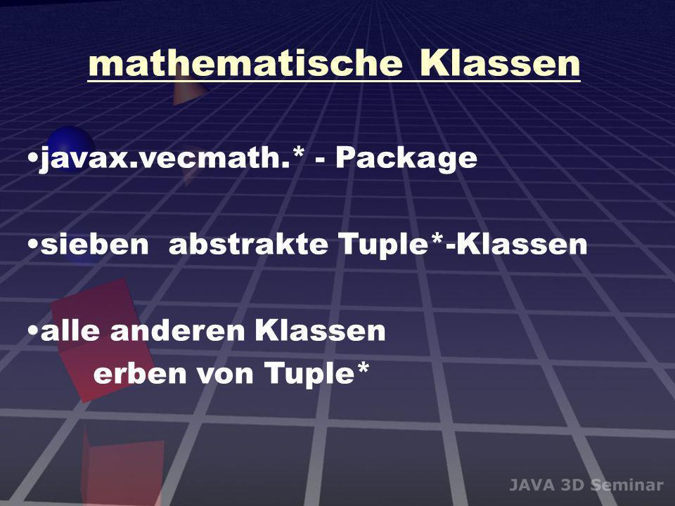 mathematische Klassen