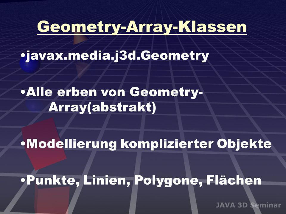 Geometry-Array-Klassen