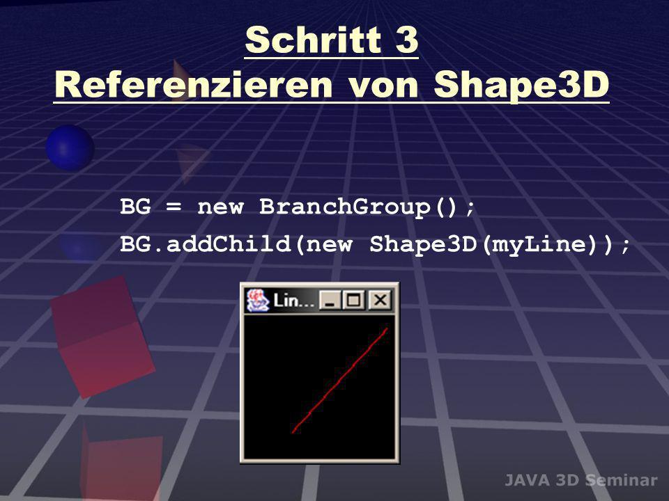 Schritt 3 Referenzieren von Shape3D