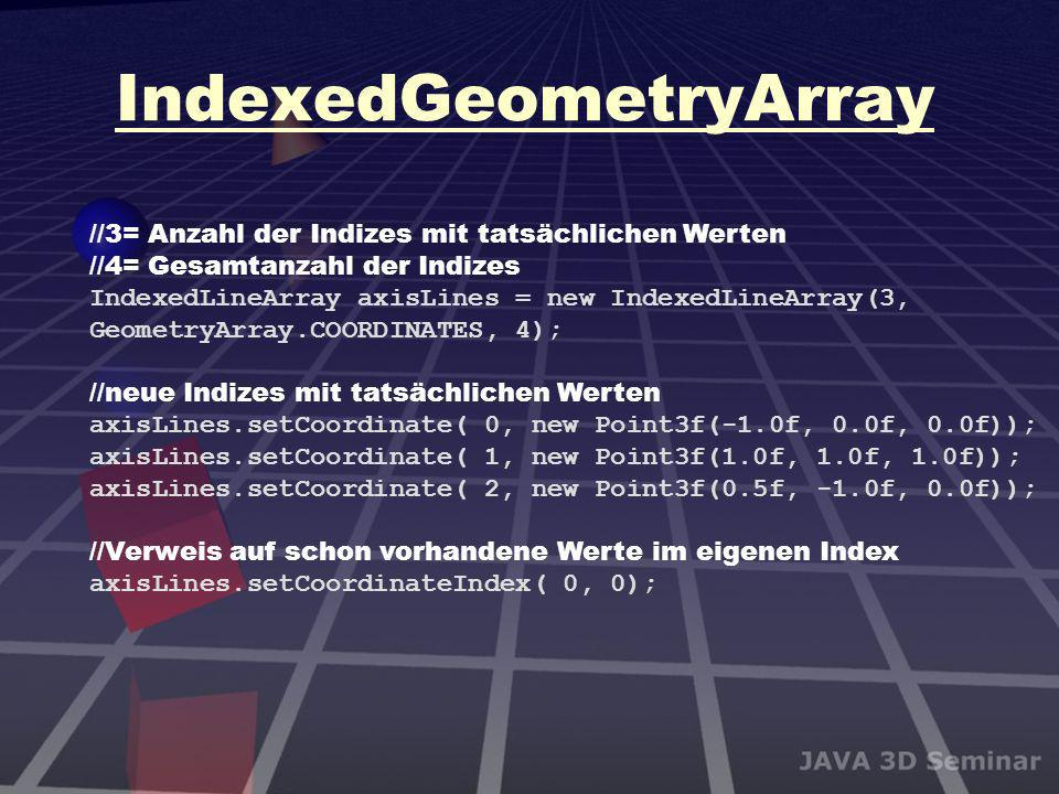 IndexedGeometryArray